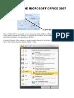 Botón de Microsoft Office