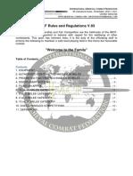 IMCF Ruleset 2016 - 2017