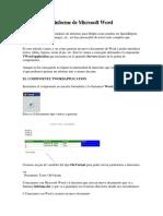 Generando Un Informe de Microsoft Word