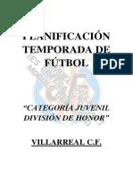 Planificacion Temporada Futbol Juveniles - Villarreal.docx