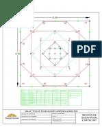 Malla de Perforacion 2.1mx2.1m- ROCA IIIB