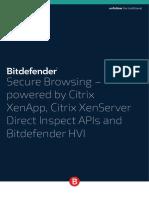 Bitdefender Business 2015 WhitePaper SecRemBro Citrix Crea894 en en Screen