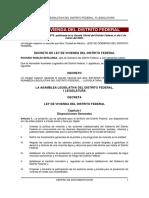 Ley Vivienda DF (Feb 09)
