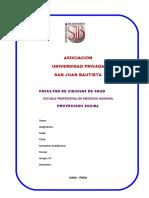 Formato Ejemplificado de Proyeccion Social