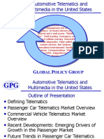Automotive Telematics and Multimedia in the United States