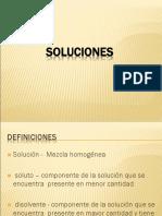 Clase 2- Soluciones- Factores Que Afectan La Solubilidad UNMSM(FISICOQUIMICA)