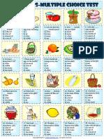 quantity quantifiers multiple choice test worksheet.pdf