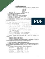 Ejercicios de Ph y Pk
