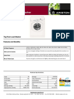Arf105 Spec Sheet