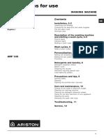 Arf105 Manual
