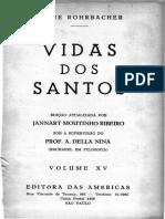 Pe. Rohrbacher - Vidas Dos Santos Vol. 15