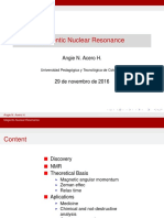 Magentic Nuclear Resonance