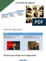 Exposicion Negociacion Internacional