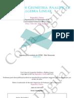 UM CURSO DE GEOMETRIA ANALITICA E ALGEBRA LINEAR.pdf