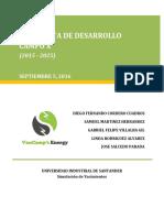 Ejemplo Académico de un Plan de Desarrollo de Un Campo Petrolero