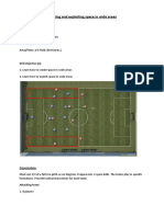 Creating Space Football Drills
