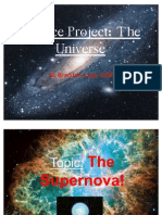 Science Project of the Supernova