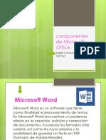 Componentes de Microsoft Office