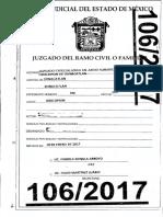 Usucapión Expediente 106 2017