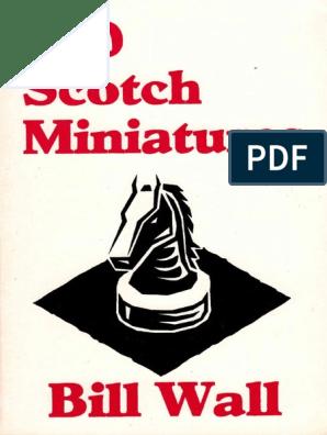 500 Scotch Miniatures by Bill Wall Xxxxx | Traditional Games | Chess