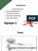 Estrategia y Planeacion de La Logistica Equipo 1