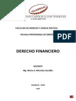 La Potestad Financiera y La Potestad Tributaria (Derecho Financiero)