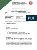 Sistema de Archivos NFS y NTFS