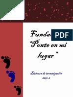 Fundación Ponte en Mi Lugar