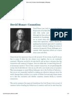Hume, David_ Causation_Internet Encyclopedia of Philosophy