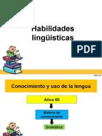 4 habilidades linguisticas