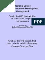 42 Developing HRD Strategic Plan