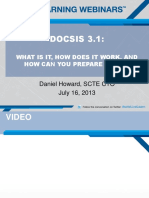 Docsis 3p1 for Ccta Howard