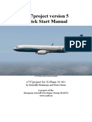x737 ReadMe&Manual pdf | Takeoff | Aircraft Flight Control System