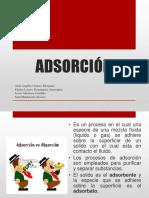 adsorcion