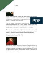 Compositores Del Clasicismo Musicos