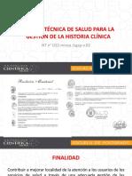 Norma Tecnica Del Minsa 022