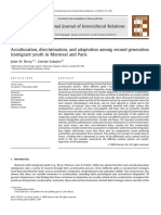 Acculturation, discrimination, and adaptation among second generation immigrant youth in Montreal and Paris.pdf
