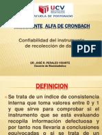 Sesión 03 Coeficiente Alfa de Cronbach