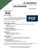Je - Carta Presentacion Ingenieros Sanitarios y Contratistas Generales s