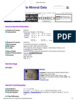 Alarsite Mineral Data1