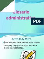 Glosario Administrativo