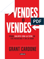 Vendes o Vendes - Grant Cardone