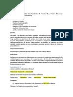 Biotina, Acido Folico, Cobalamina, Acido Ascorbico