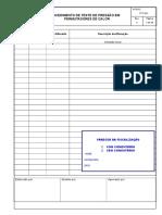 PTC-021 - Procedimento DeTeste de Pressão Em Permutadores De
