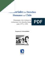 Memoriales de Derechos Humanos en Chile.desbloqueado