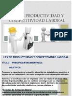 Semana 13 Ley de Productiviodad y Competitividad Laboral