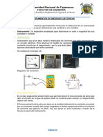 Instrumentos de Medidas Electricas