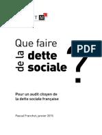 Que faire de la dette sociale. Pour un audit citoyen de la dette sociale francaise.pdf