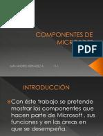 Taller Juancho Componentes de Microsoft