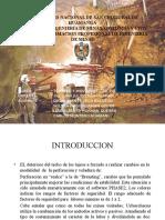 Sostenimiento de La Mina Uchucchacua